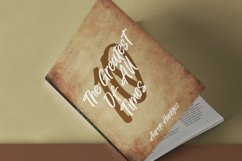 Web Font Holdings - Brush Lettering Font Product Image 6