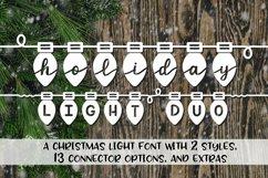 Christmas Font Bundle - 4 Font Mini-Bundle Product Image 6