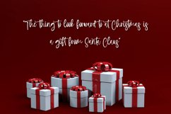 Holiday Wishes - Christmas Handwritten Font Product Image 5