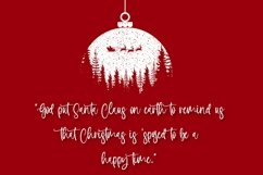 Web Font Holiday Wishes - Christmas Handwritten Font Product Image 2