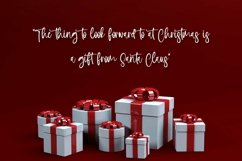 Web Font Holiday Wishes - Christmas Handwritten Font Product Image 4