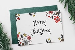 Web Font Holiday Wishes - Christmas Handwritten Font Product Image 6