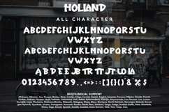 Holland - Unique Display Font Product Image 6