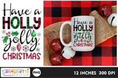 Have a holly jolly Christmas PNG gingerbread Sublimation Product Image 2