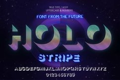 Holostripe Font | Open Type & Woff Product Image 3