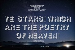 Holostripe Font | Open Type & Woff Product Image 1