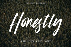 Honestly - Handwritten Font Product Image 1