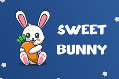 Honey Bunny - Cute Display Font Product Image 3