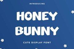 Web Font Honey Bunny - Cute Display Font Product Image 1
