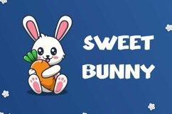 Web Font Honey Bunny - Cute Display Font Product Image 2