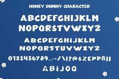 Web Font Honey Bunny - Cute Display Font Product Image 6