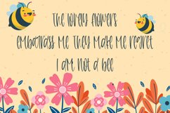 Honeycomb - A Cute Handletter Font Product Image 3