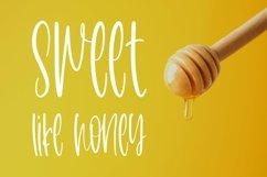 Web Font Honeycomb - A Cute Handletter Font Product Image 2