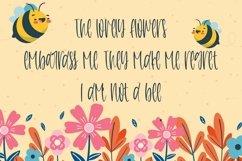Web Font Honeycomb - A Cute Handletter Font Product Image 3