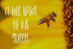 Web Font Honeycomb - A Cute Handletter Font Product Image 4