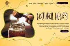 Web Font Honeycomb - A Cute Handletter Font Product Image 5