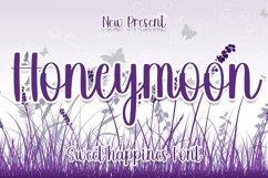Honeymoon - Sweet Happines Font Product Image 1