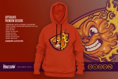 Mad Basketball On Fire SVG Illustrations Product Image 4