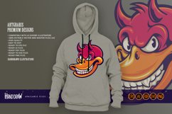 Smiling Duck Devil Character SVG Illustrations Product Image 2