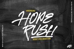 HOPERUSH - Brush Font Product Image 1