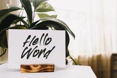 HOPERUSH - Brush Font Product Image 3