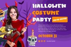 Horn Devil - Halloween Display Font Product Image 3