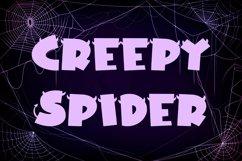 Web Font Horn Devil - Halloween Display Font Product Image 3