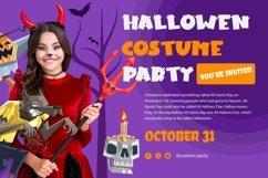 Web Font Horn Devil - Halloween Display Font Product Image 5