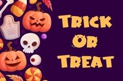 Web Font Horn Devil - Halloween Display Font Product Image 2