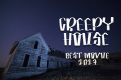 Horror Spooky - New Horror Font Product Image 5
