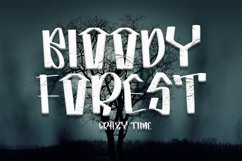 Horror Spooky - New Horror Font Product Image 3