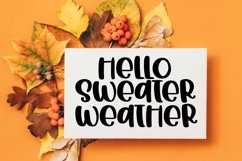 Web Font Hot Apple Cider - A Quirky Handlettered Font Product Image 4