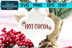 Hot Cocoa SVG Cut File | Christmas SVG Cut File Product Image 1