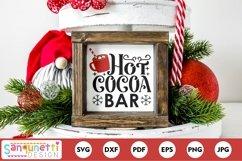 Hot Cocoa Bar Christmas SVG Product Image 1