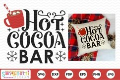 Hot Cocoa Bar Christmas SVG Product Image 2