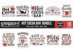 Hot Cocoa Bar Christmas SVG Bundle - 10 designs Product Image 1