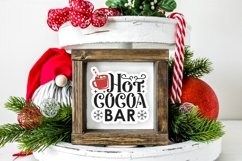 Hot Cocoa Bar lettering and labels PNG sticker bundle Product Image 4