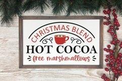 Hot Cocoa Bar Christmas SVG Bundle - 10 designs Product Image 3