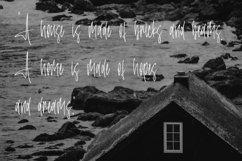 Web Font Household - Monoline Font Product Image 4