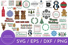 Huge Christmas SVG Bundle