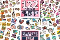 Huge Sublimation Bundle, 300 DPI. Product Image 1