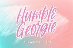 Humble Georgie - Handwritten Font Product Image 1