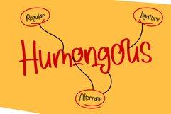 Humongous - a handwritting typeface Product Image 4