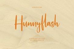 Hunnyflash Handwritten Font Product Image 1