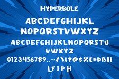 Hyperbole - Comic Display Font Product Image 6