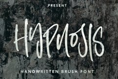 Hypnosis Brush - Handwritten Brush Font Product Image 1