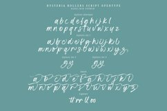 Hysteria Rollers-Sans Script Font Duo Product Image 3