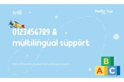 Plastic Toys Basic Serif Kids Product Image 6