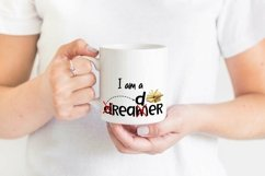 Book Reader Sublimation | Book Quotes PNG | I am a Dreamer Product Image 2
