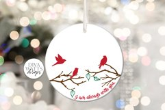 I Am Always With You SVG | Christmas / Memorial Red Cardinal Product Image 2
